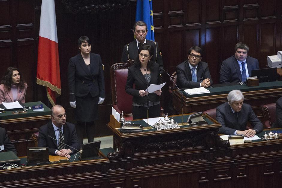 Camera dei Deputati - Laura Boldrini eletta presidente