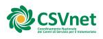 Nuovo logo Csvnet
