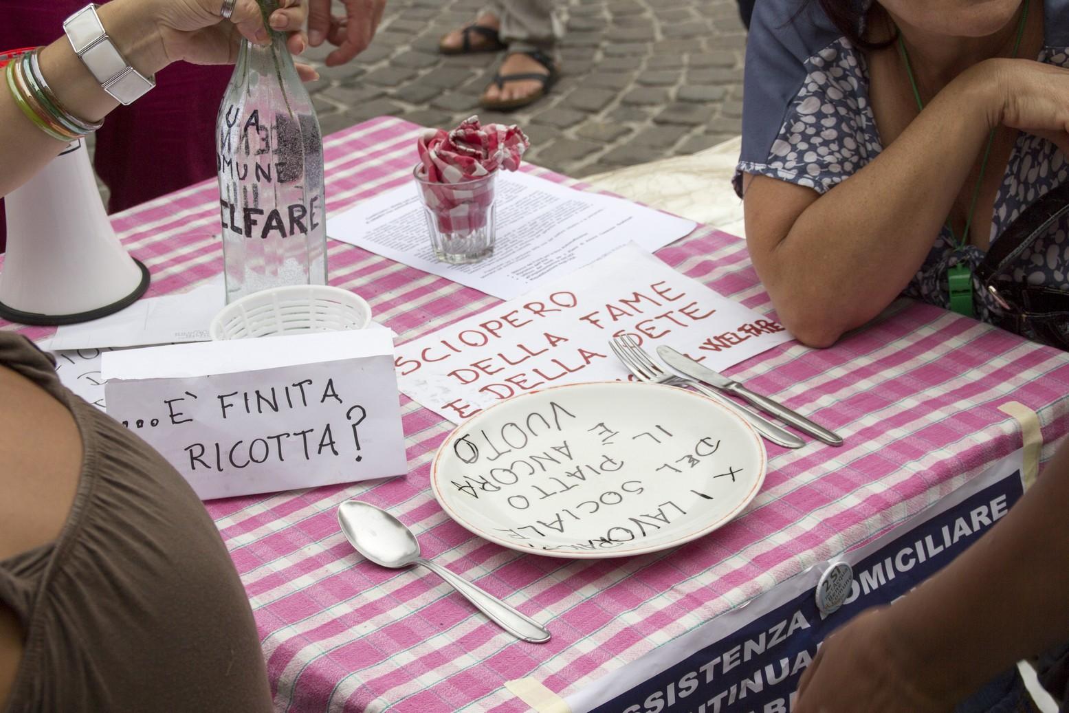 sciopero fame coop sociali